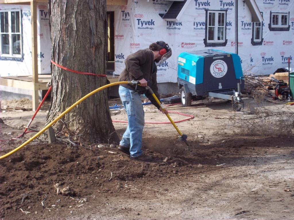 the air spade is a great tool for tree presrvation!
